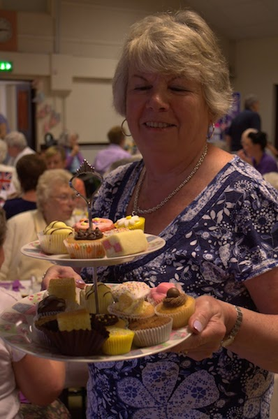 Spring Tea Party Photographs - Geraldine, the cake lady