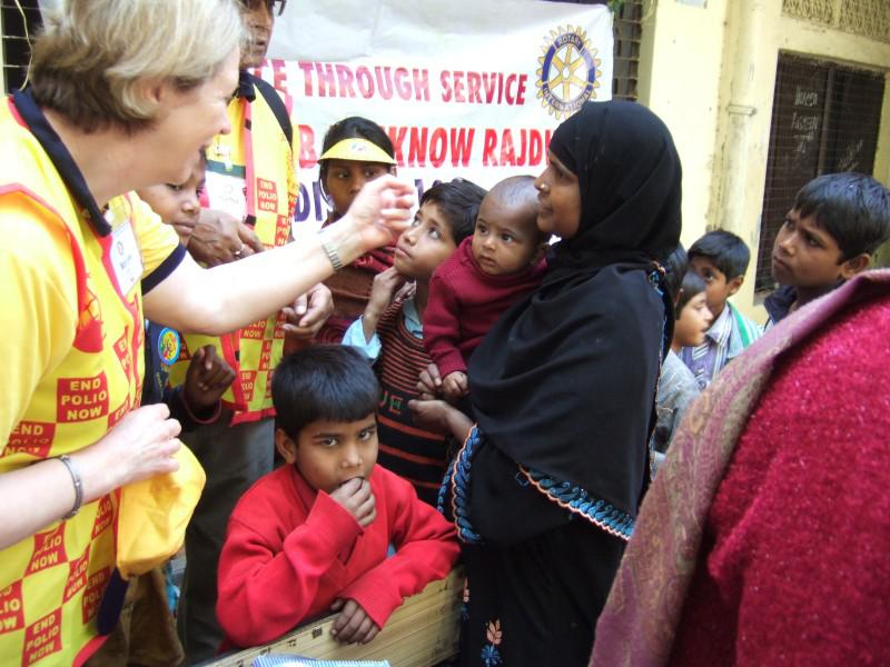 Immunisation Day in India - Getting to know you