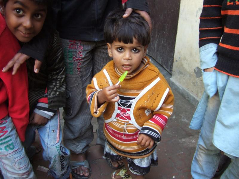 Immunisation Day in India - Gift after vaccine