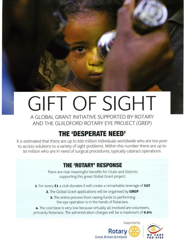 Truro Rotary Supports - Gift of Sight - Gift of Sight1