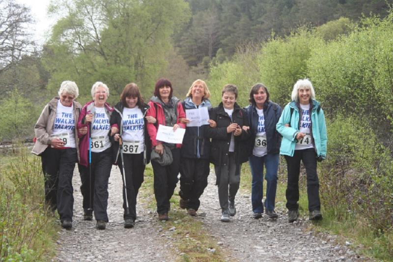 Club Walks - Glencalvie May 2014