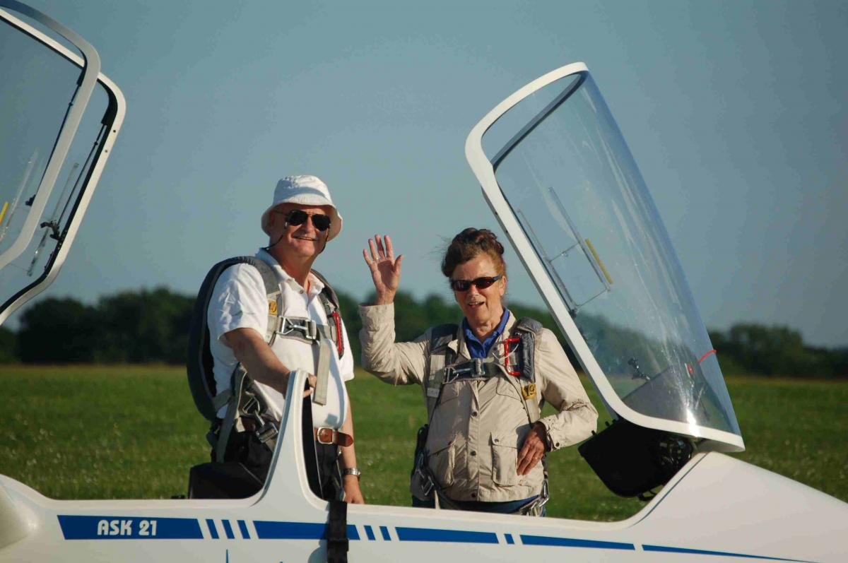 Some of the fun we have - Gliding at Lasham