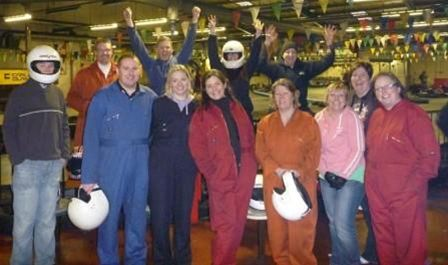 Go Karting Feb 10 -