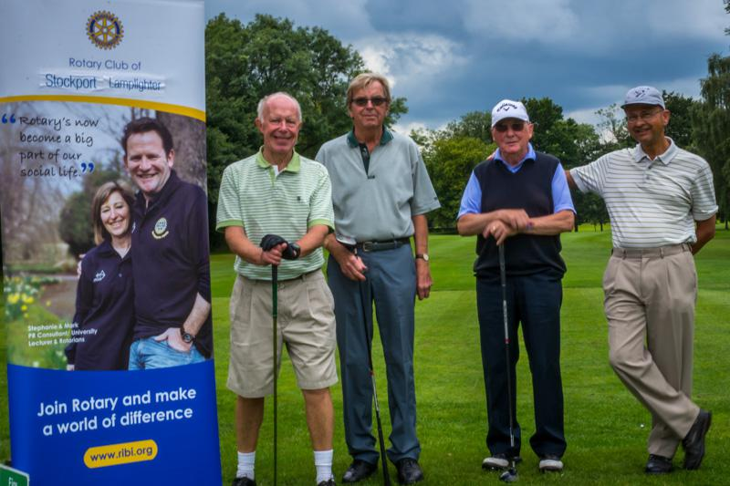 Charity Golf Competition - Bramhall Parkers.