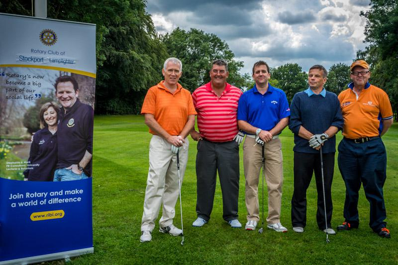 Charity Golf Competition - Manchester Orthopedics.