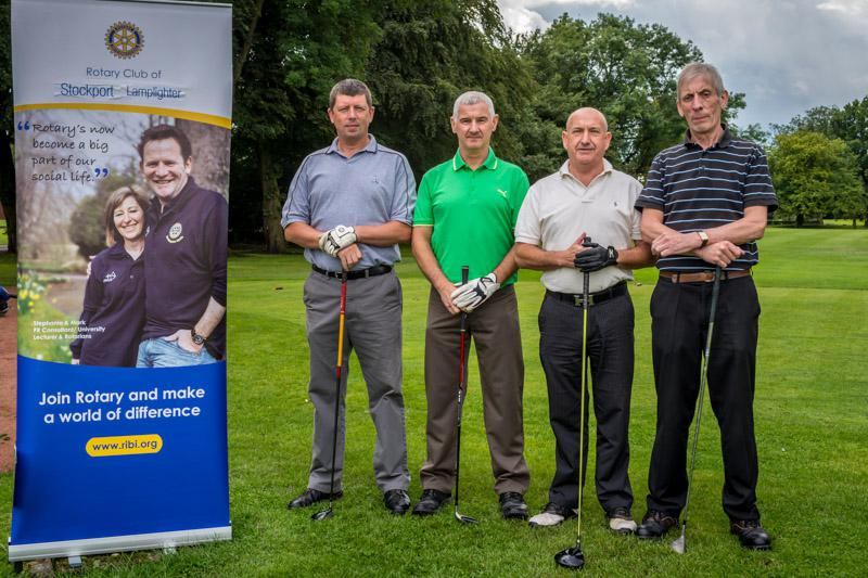 Charity Golf Competition - Midland Golf Society Team 1.