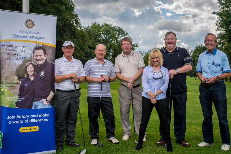 Charity Golf Competition - Midland Golf Society Team 2.