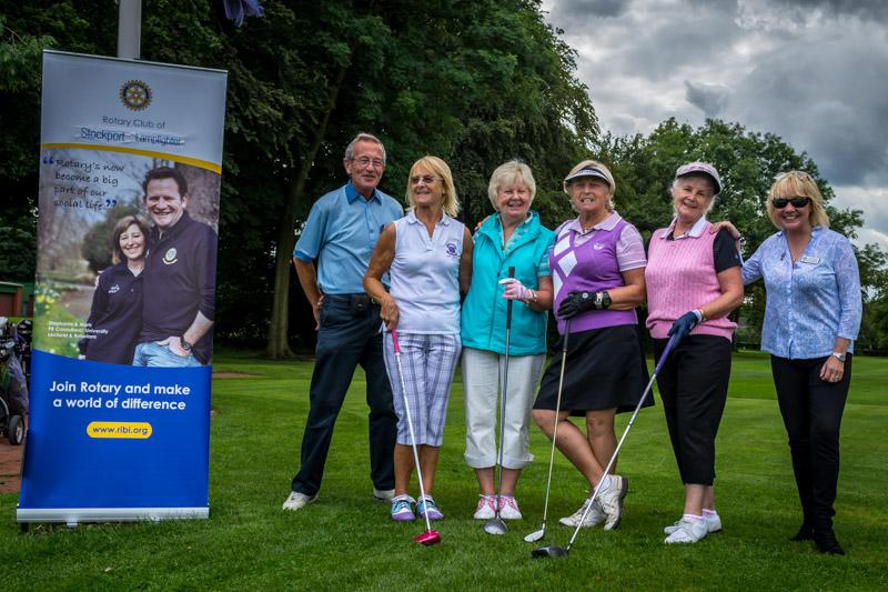 Charity Golf Competition - The Golden Girls.