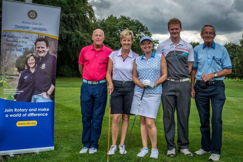 Charity Golf Competition - The Moor Four.