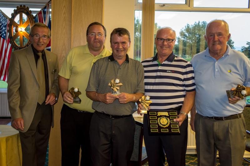 Charity Golf Competition - Winning team.