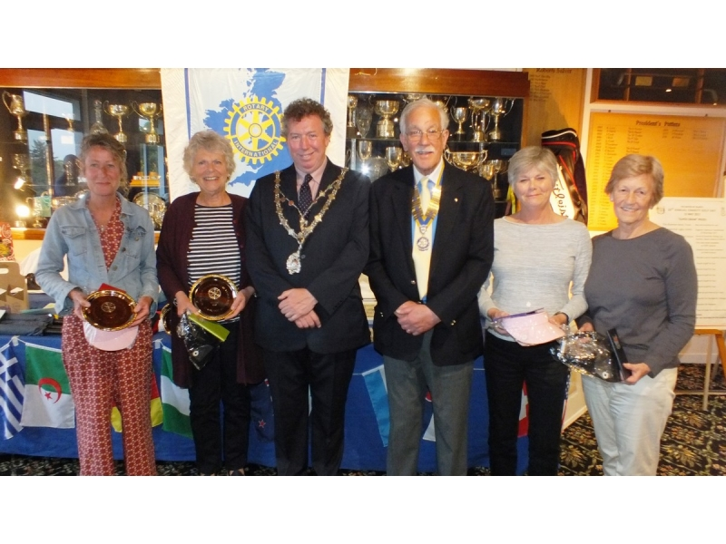 20th Annual Mayor of Truro's Charity Golf Day, 12 May 2017 - Winners of the ladies' competition, A Walk in the Park