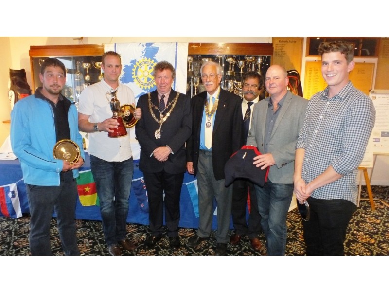 20th Annual Mayor of Truro's Charity Golf Day, 12 May 2017 - Winners of the Ocean BMW Trophy, the Scott Richards Professional team