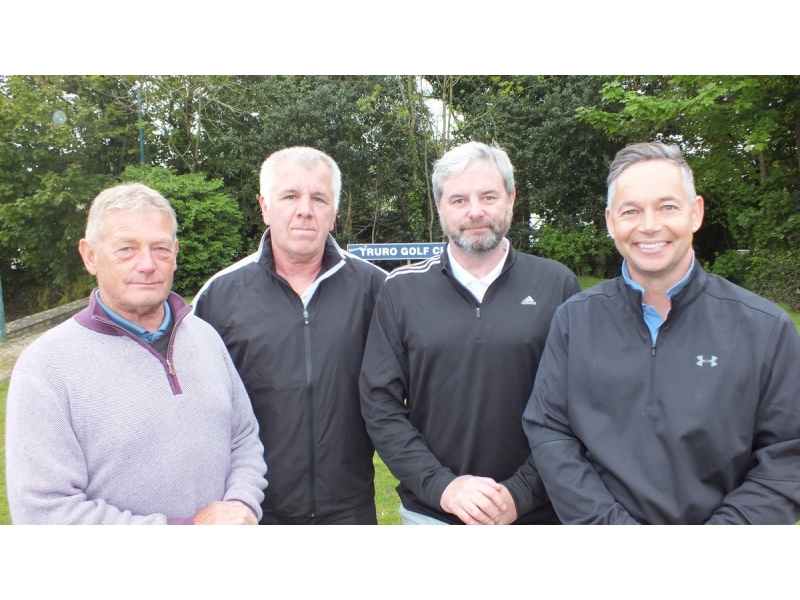20th Annual Mayor of Truro's Charity Golf Day, 12 May 2017 - Influence Planning - Danny Couch, Steve Puckey, Paul Bateman, Ged Dixon