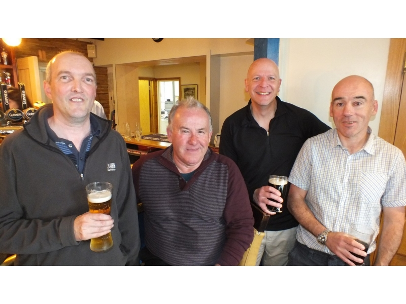 20th Annual Mayor of Truro's Charity Golf Day, 12 May 2017 - Mining Searches - Paul Raglan, John Ward, Jerry Wellington, Ian Curnow
