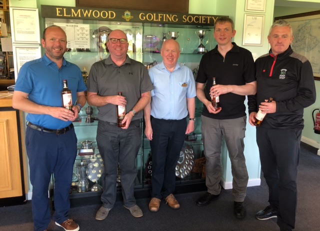 Charity Golf Day - Golf winners