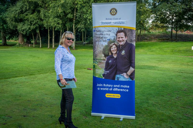 Charity Golf Competition - Organiser-in chief, Rowan.