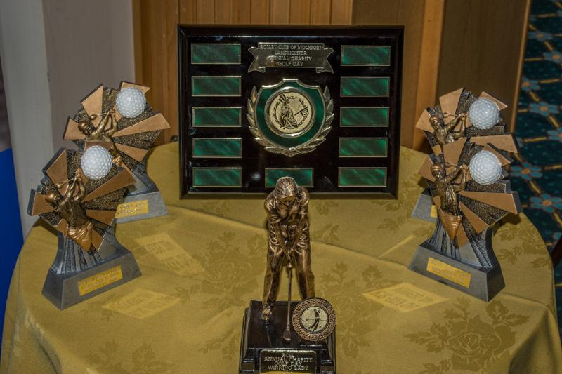 Charity Golf Competition - The trophies