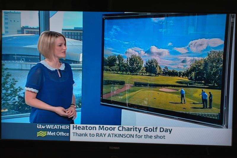 Charity Golf Competition - Even a mention on ITV Granada Weather bulletin.