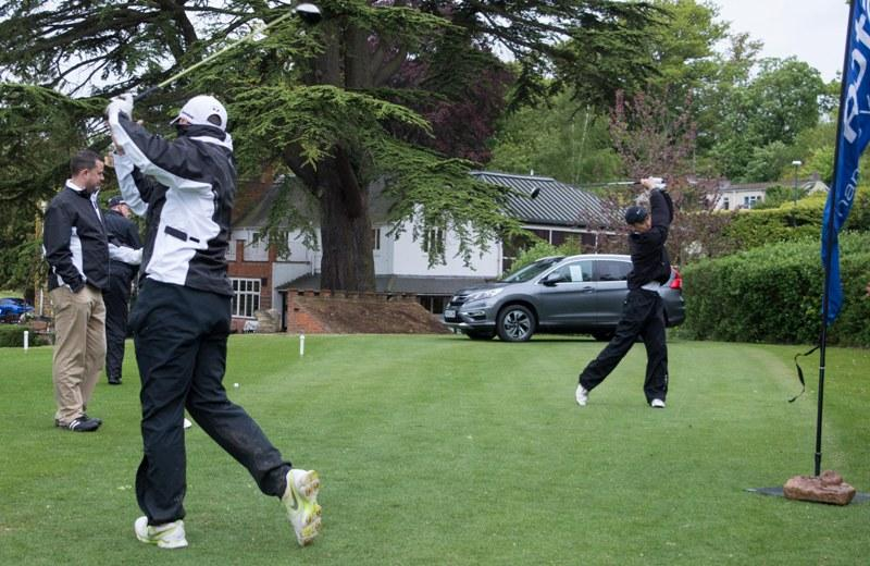 2015 Charity Golf Tournament  - ... balletic warm up