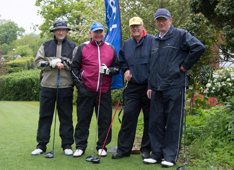 2015 Charity Golf Tournament  - Looking a bit damp after 9 holes. Tom Reseigh claimed the Longest Drive