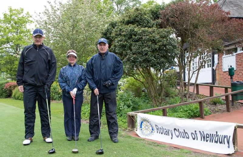 2015 Charity Golf Tournament  - Lorna was the only lady in the Tournament
