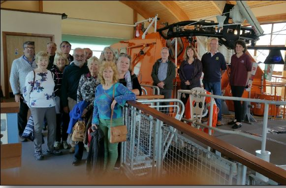 Club Fellowship and Friendship - A visit to The Mumbles Lifeboat Station