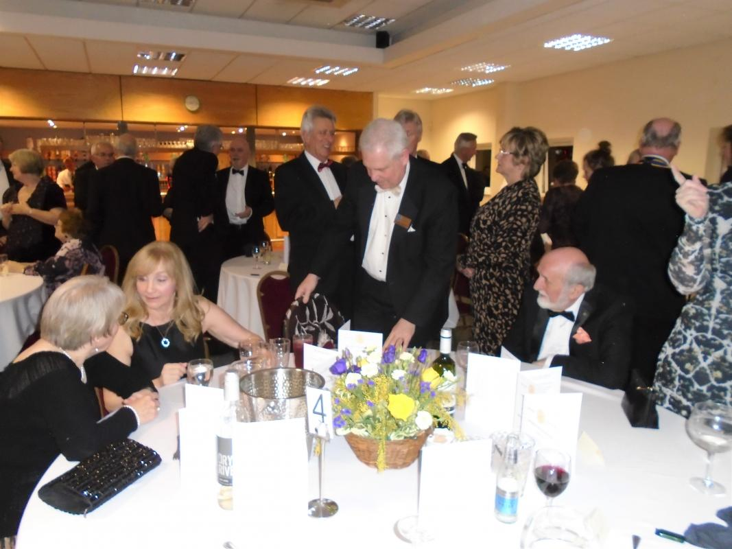 Nantwich Rotary 85th Charter Night - Graham Tresidder & Tony West