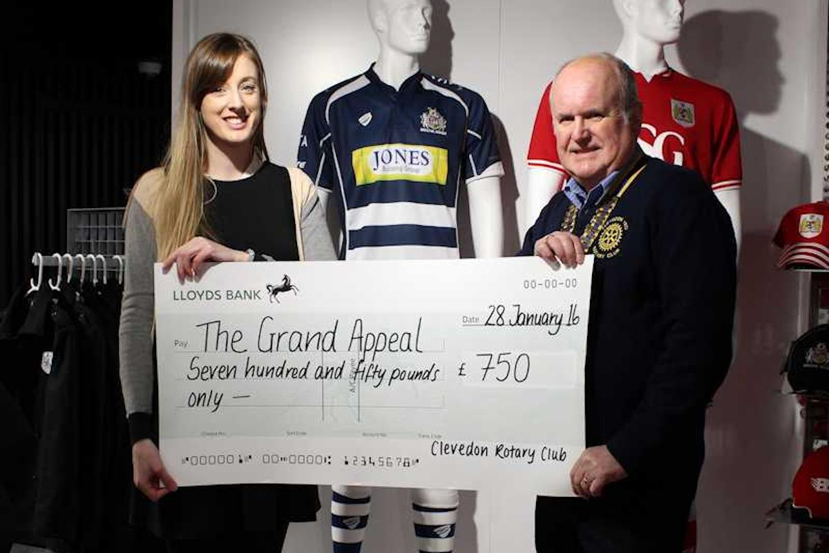 Gallery - Grand Appeal Presentation £750 raised at Bristol City FC