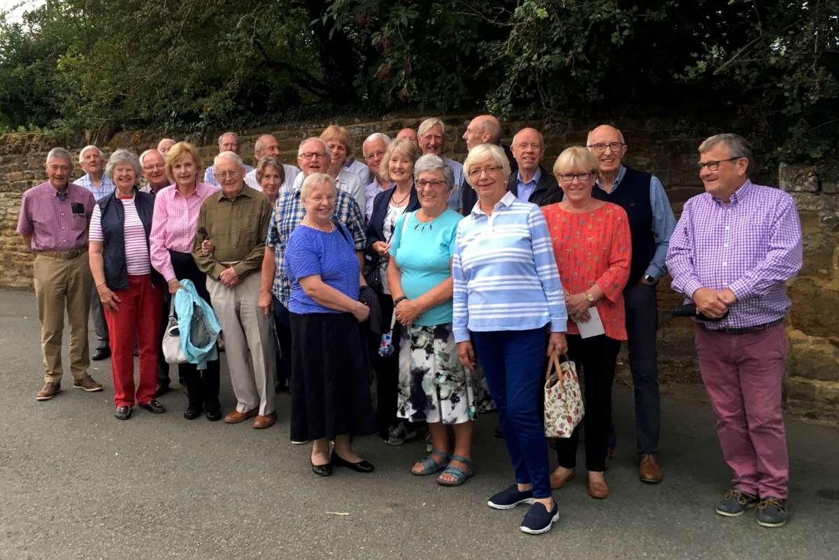 A guided walk around & about Great Brington -