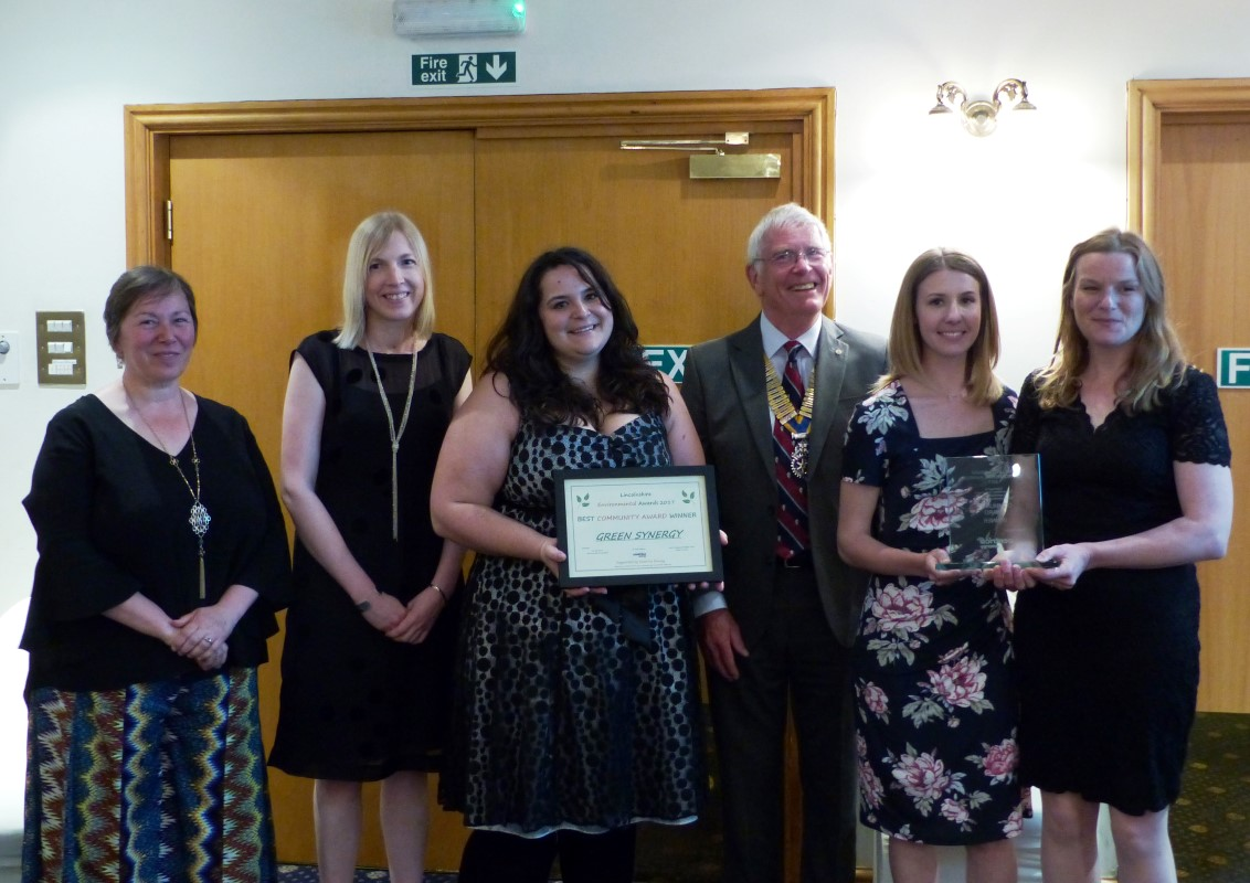 Lincolnshire Environmental Awards 2017 - Green Synergy