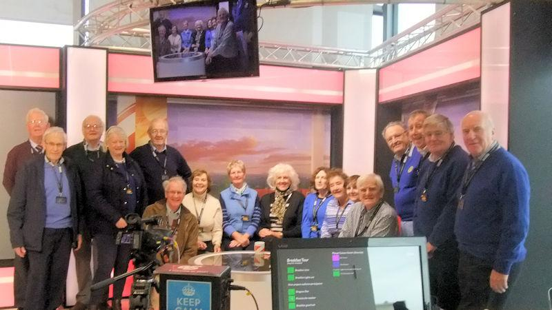Our Social Activities - 17 Rotarians, partners and friends visit the BBC Studios at Salford Quays