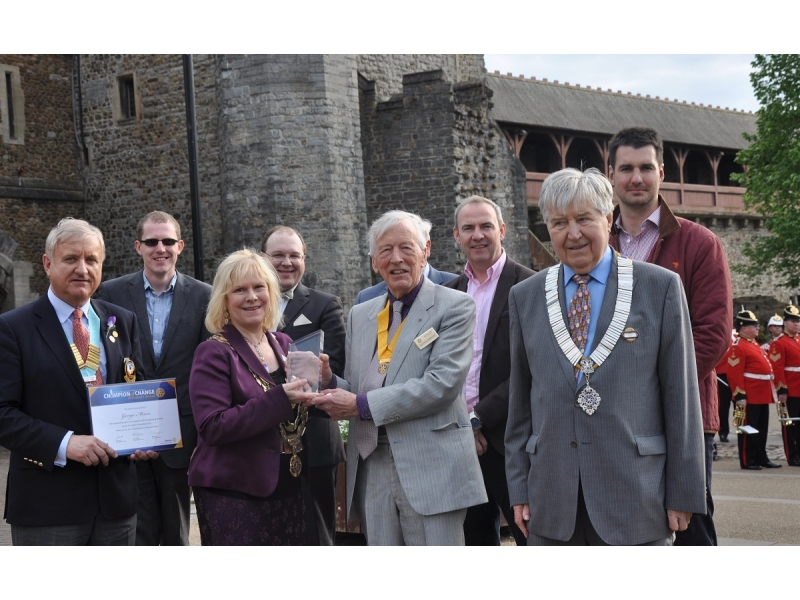 Cardiff Rotary Celebration of Their 100 Year Birthday -