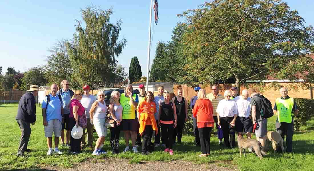 This years Sponsored Walk was on 2-Sep-2018 - Group-walkers