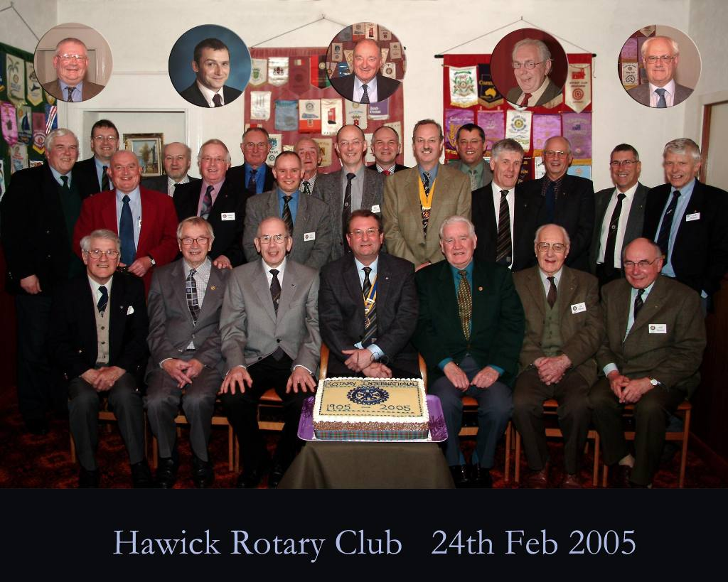 Group Photos - Rotary Club of Hawick 2005