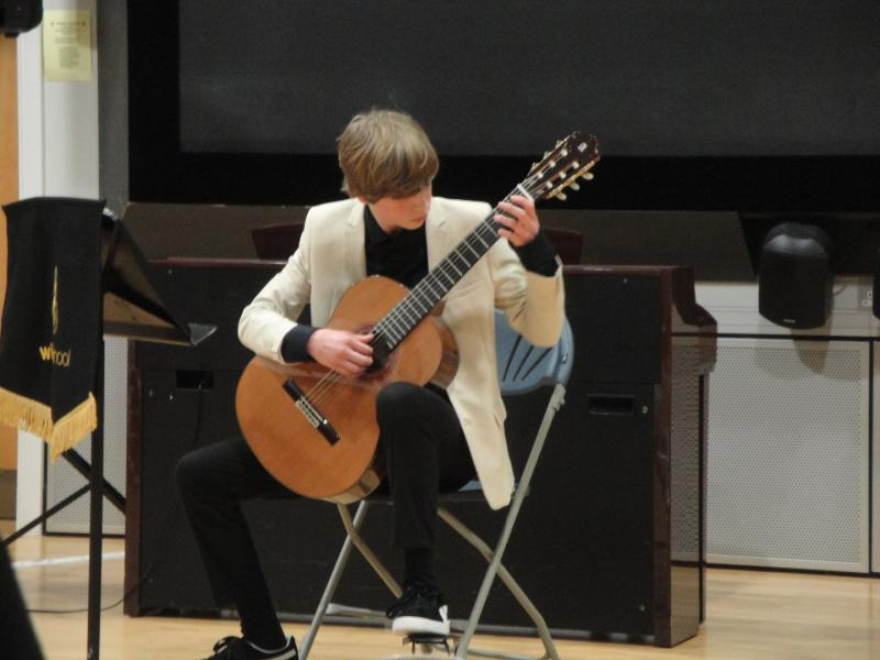 Rotary Young Musician Competition - Guitarist