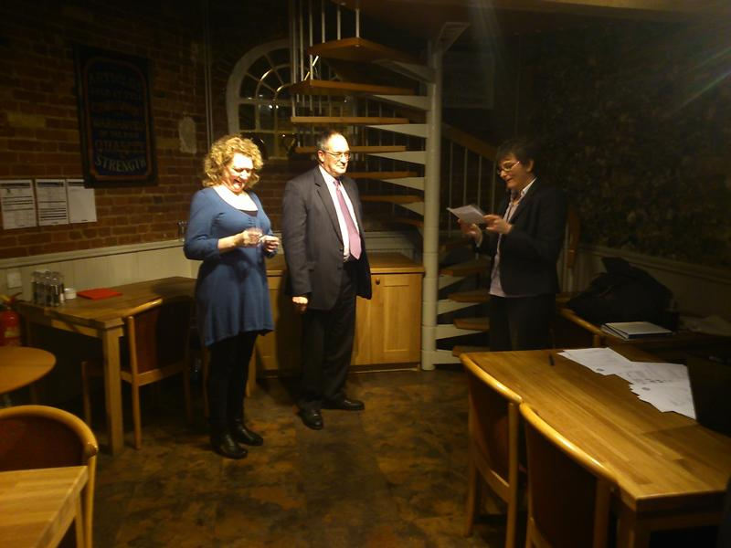 New Members for Bury Abbey Rotary Club - H&J 0002