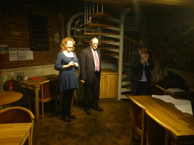 New Members for Bury Abbey Rotary Club - H&J 0003