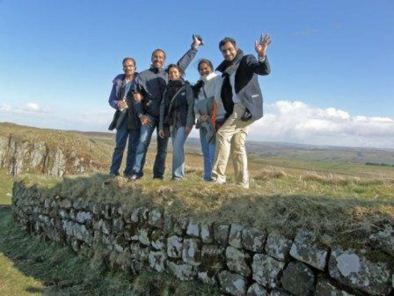 GSE Visit 2013 - Hadrians Wall 1