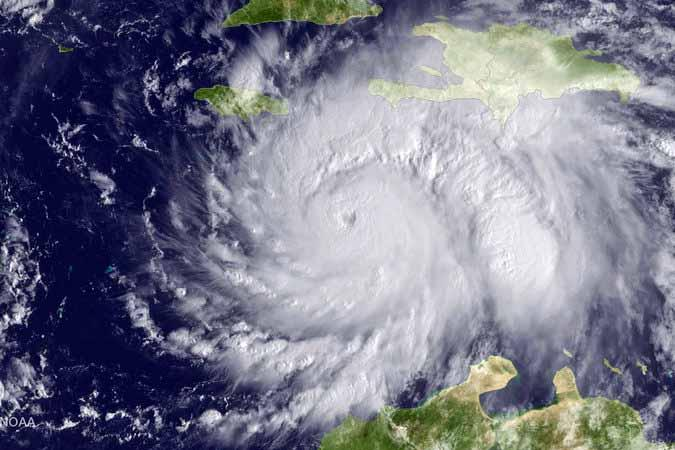 Collection for Haiti following Hurricane Matthew - The Storm