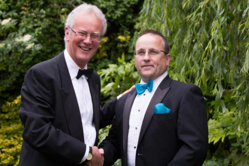 2013 Rotary Pesidential Handover - The New Team Tony and Chris