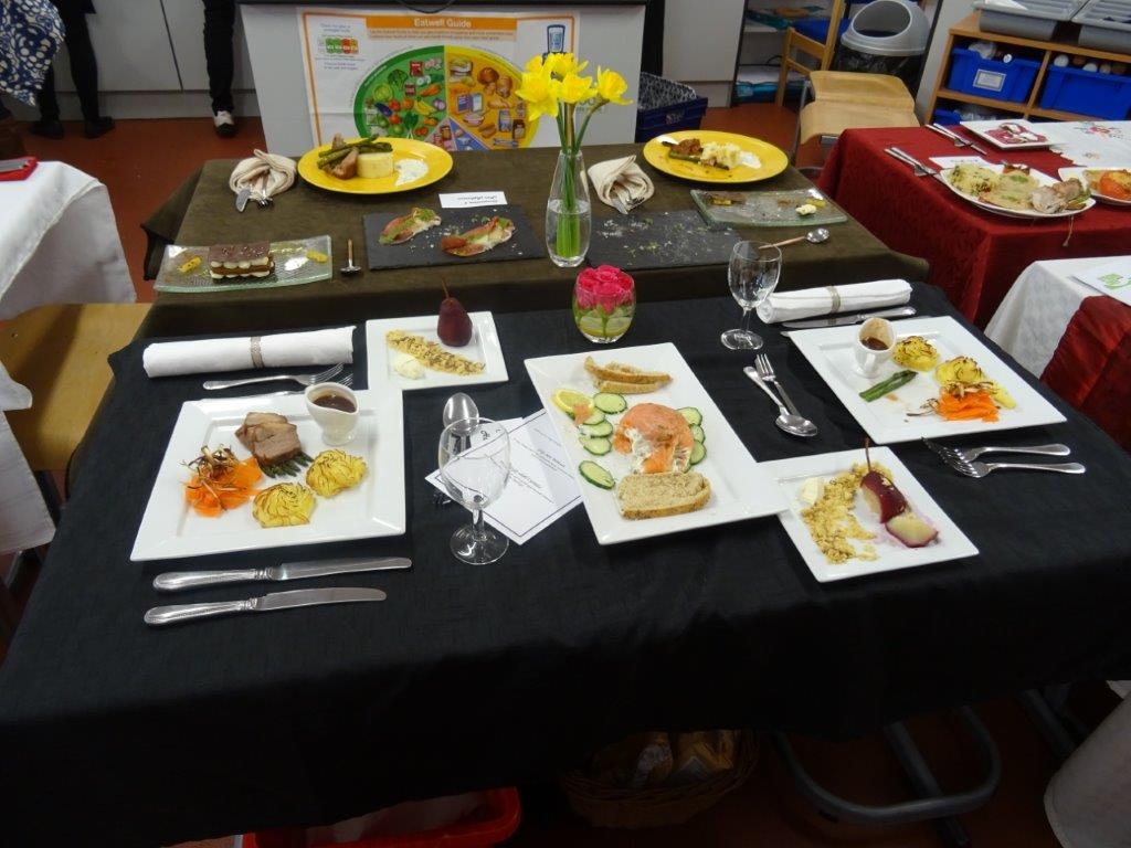 "Local girl ""wows"" the judges - Hannah's enticing meal and table layout"