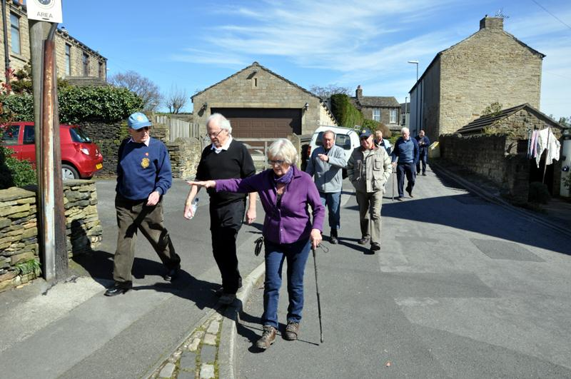 Afternoon Tea Walk for End Polio Now - Hartshead Village