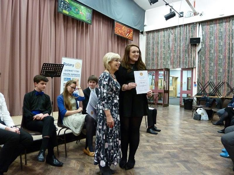 Young Musician competition 2014/2015 - Heather Plow