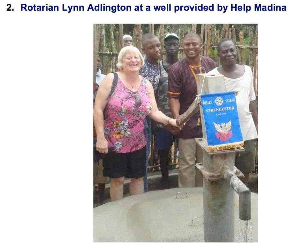 Rotary hope to rebuild school in Sierra Leone -