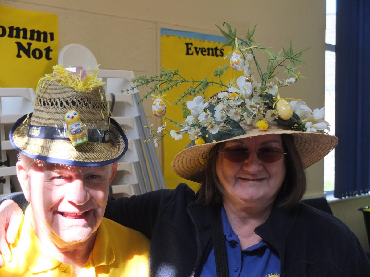 Annual Easter Party - Helpers in Bonnets