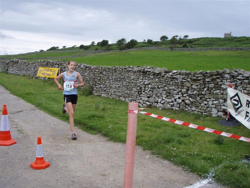 James Herriot Country Trail Run 2010 Report - 1st Lady Mairead Rocke