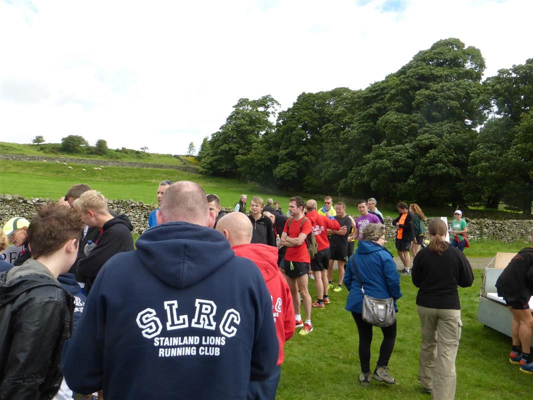 James Herriot Run Report 2017 - Queue at registration