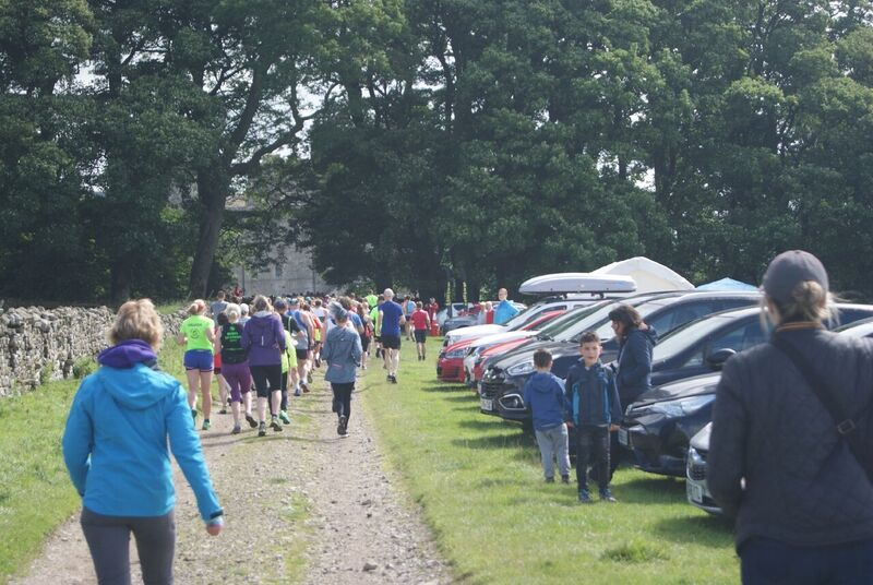 James Herriot Run Report 2017 - Runners leaving start field