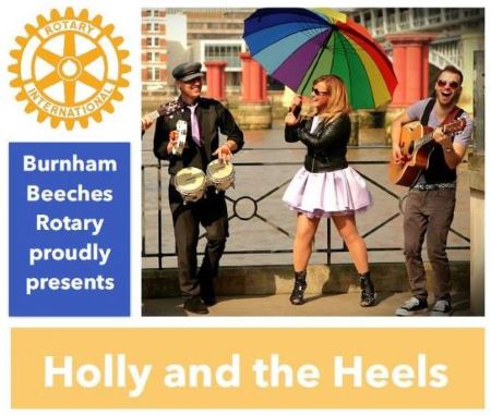 Holly and the Heels - An Evening of Entertainment -