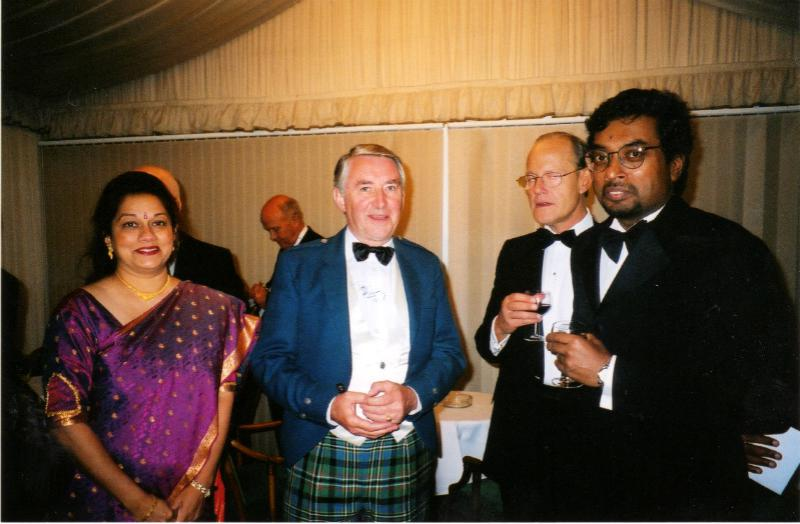Club History - with President Sree and IPP Jonathon Lyons